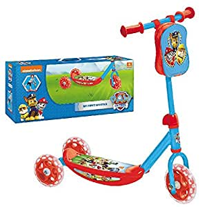 Mondo 28102 - My First Scooter Paw Patrol, Monopattino Baby, 3 Ruote