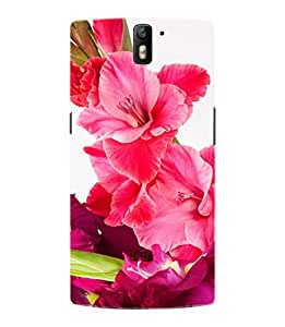 For OnePlus One Flower Bouquet Case by Fusion Gear Hard Back Designer Case Cover for OnePlus 1