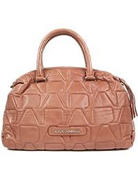 Adolfo Dominguez Bolso para mujer, color rosado