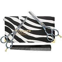 """CANDURE® - professionnels de coiffure Ciseaux de coiffure Hair 5.5"""" pouces (liste 13.97cm), Beau Ciseaux Cheveux, Noir et Blanc Zebra Set"""