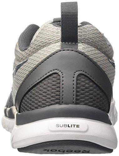 Reebok Sublite Sport, Scarpe da Corsa Uomo Multicolore (Grey/Alloy/White)