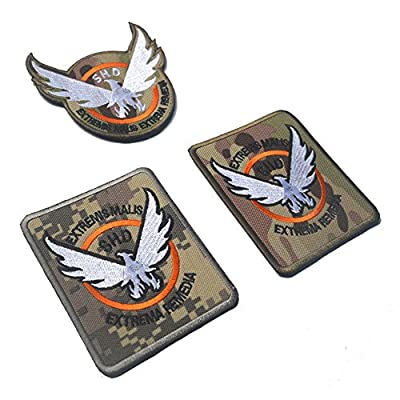 Aquiver Eagle round Embroidery Badges Patches Military patches morcla tactical Armband for Bag Hot SHD Patch by Aquiver