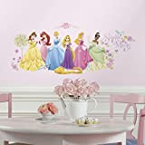 (10 x 18) Disney Princess – Glow in Prinzessin Wand Aufkleber