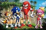 Posterhouzz TV Show Sonic Boom Knuckles ...