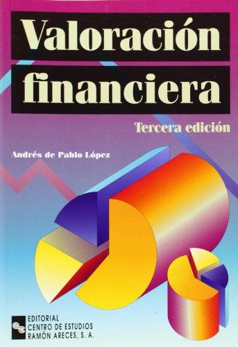 Portada del libro Valoración Financiera (Manuales)