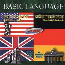 Basic Language English / German