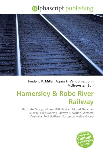 hamersley-rio-tinto-group-pilbara-bhp-billiton-mount-newman-railway-goldsworthy-railway-newman-weste