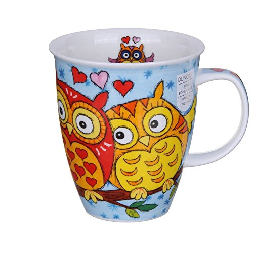 DUNOON Owls Light Blue - Dunoon Becher Nevis Light Blue Cup