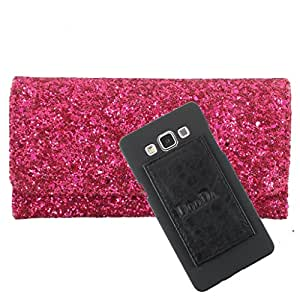 DooDa PU Leather Wallet Flip Case Cover With Card & ID Slots For Spice Stella 439 - Back Cover Not Included Peel And Paste