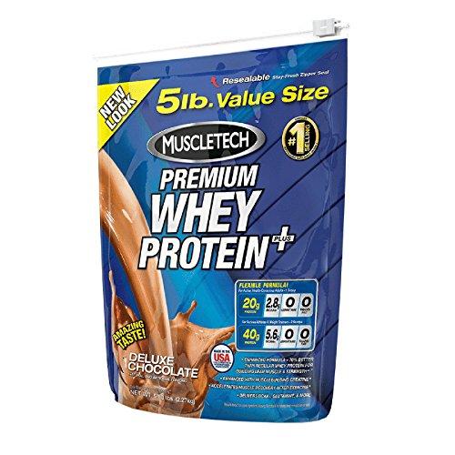 Muscletech Premium Series 100% Premium Whey Protein Plus - 2,27 kg Vanilla - 51EHJiNOfJL