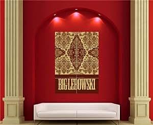 THE BIG LEBOWSKI THE DUDE CARPET CULT MOVIE FILM GIANT NEW POSTER AFFICHE PRINT EN679