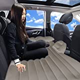 #9: Kawachi Car Travel Inflatable Sofa Mattress Air Bed Cushion Camping Universal Travel Bed Rear Seat With Pillow and Pump Heavy-duty Backseat Car Travel Mattress Perfect For Your Mini-van or SUV