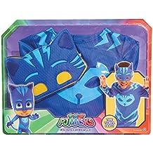 PJ Masks - Transfórmate en Gatuno, disfraz infantil, color azul (Bandai ...
