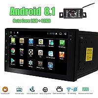 Cámara de reserva Incluido - Car Stereo doble din en el tablero de Android 8.1 sistema