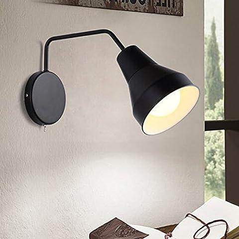 Winson El Salón minimalista Nórdico Apliques creativo Interruptor giratorio para el cinturón cama dormitorio lámparas Apliques Estudio Creativo ,