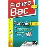 Fiches Bac Français 1re toutes séries: Fiches de cours - Première toutes séries by Sophie Saulnier (2012-07-18)