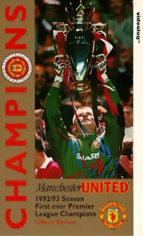 Manchester United – Champions – The Official 1992/93 Season Review [1993] [VHS]