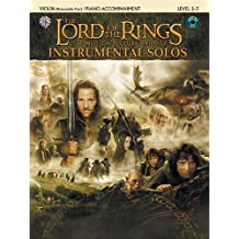 The Lord of the Rings Instrumental Solos (per corde)–violino–BK + CD