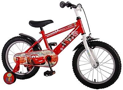 Kinderfahrrad Disney Cars 16 Zoll Kinder Fahrrad mit Rücktrittbremse