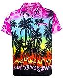 Funky Hawaiihemd, Kurzarm, Beach, Babypink, M