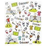 Hobby-Design Sticker Fußball II