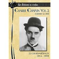 Charlie Chaplin - Coffret 6 DVD : 21 courts-métrages (1914-1919) - Volume 2