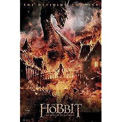 GB eye LTD, The Hobbit, La Batalla de los cinco ejércitos Dragon, Maxi Poster, 61 x 91,5 cm