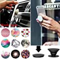 Magnetic Phone Holder,Omiky® 360 Degree Rotatable Sticky Magnetic Mini Car Phone Mounts Dashboard Cradle