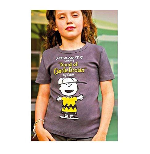 Peanuts - Good Ol' Charlie Brown T-Shirt Kinder Jungen - grau - Lizenziertes Originalsdesign - LOGOSHIRT, Größe 158/164, 13-14 (Charlie Brown Kostüm)