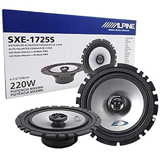 Alpine SXE-1725S - 16,5 cm (6,5-Zoll) 2-Wege Koaxiallautsprecher