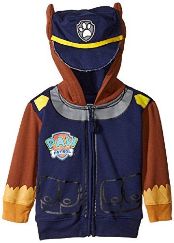 Paw Patrol Chase Marine Kleinkind Kostüm Hoodie (Kleinkind 5T) (Paw Patrol Marshall Kostüme Für Kleinkinder)