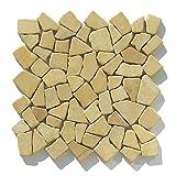 M-012 Marmor Bruchstein Mosaik-Fliesen Wand Boden Fliesen Lager Verkauf Stein-Mosaik Herne NRW