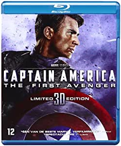 Captain America : First Avenger - Combo Blu-ray 3D + Blu-ray 2D + DVD