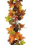 Red Hot Pflanzen Künstliche Girlande–Herbst Ernte