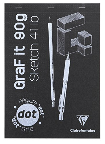 clairefontaine-a4-graf-it-dot-grid-sketch-pad-in-assorted-colours