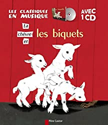 La chèvre et les biquets (1CD audio)