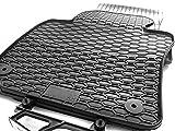 Gummi Fußmatten VW Tiguan Original Qualität Auto Gummimatten - schwarz 4-teilig