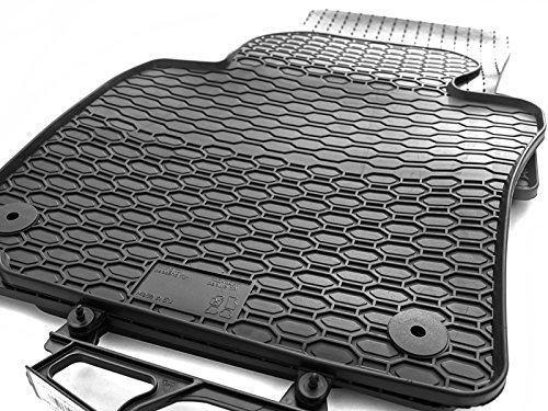Preisvergleich Produktbild kh Teile Gummimatten Original Qualität Gummi Fußmatten 4-teilig schwarz