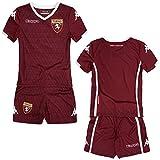 Torino FC Kombat Kit Unisex Bambini, Rosso Granata-Bianco, 5 Anni