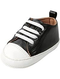Scarpe per bambina, Yoyoug bambino scarpe ragazza neonato culla suola morbida scarpe sneakers, Mesh, rosso, 2