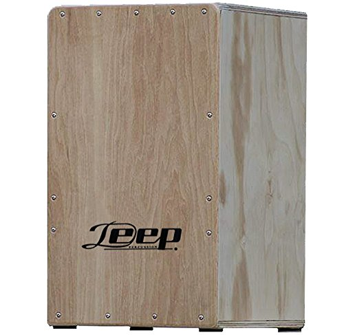 Deep 1001CNAT Cajon Flamenco en Tamaño Cadete y Color Natural