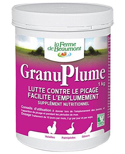 FERME DE BEAUMONT GranuPlume 1 kg - picage et plumage...