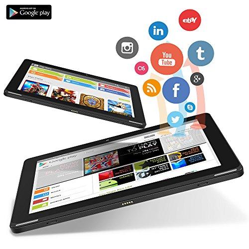preisvergleich yuntab tablet 10 1 zoll android 6 0 quad. Black Bedroom Furniture Sets. Home Design Ideas