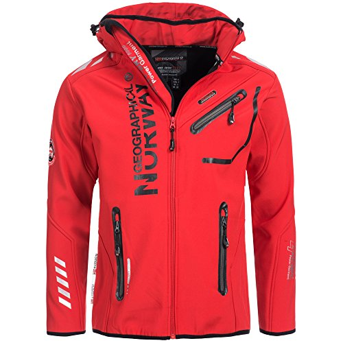 Geographical Norway Hombre Chaqueta Outdoor Softshell