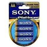 Sony Stamina Platinum Batterie AA Mignon 4er Pack