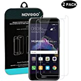 NOVAGO Lot de 2 Film Verre trempé HuaWei P8 Lite 2017 , Honor 8 lite 2017- films protection écran en verre trempé résistant ( Version 2017), NOVAGO®