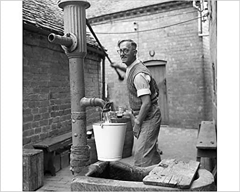 Photographic Print of Hand pump at the Fruiterer s Arms, Hartlebury