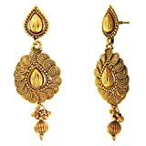 Donna Gold Plated Dangle & Drop Earrings...