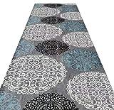 RHSMQ Modern Läufer Teppiche Flur Kann Schneiden Verschleißfest Schmutzabweisend Einfach zu Säubern der Eingang Korridor Matte,A01,0.8 * 3M