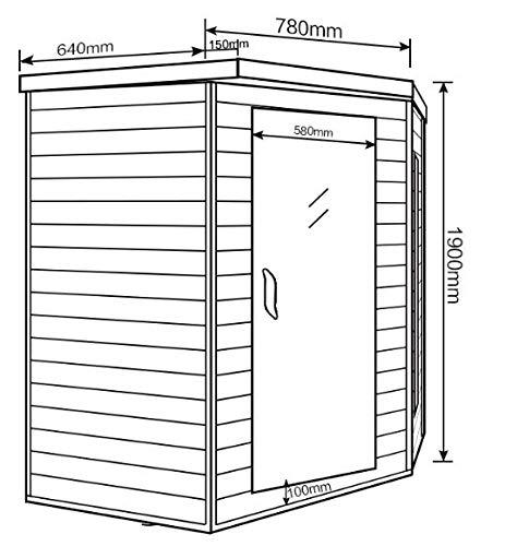 Home Deluxe – Infrarotkabine – Redsun XL - 6